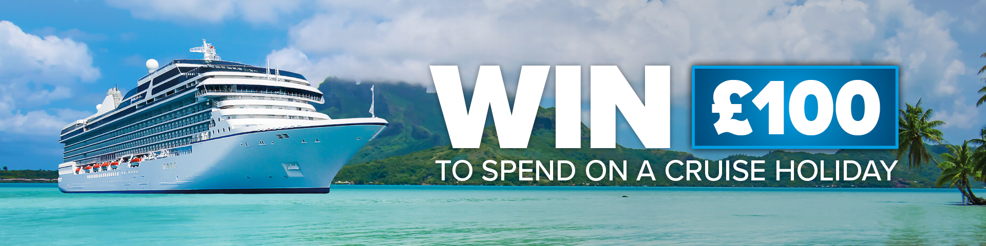 Win £100 to spend with hays travel
